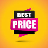 Best price bubble banner Stock Photos