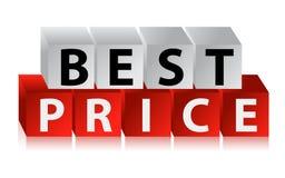 Best Price Button Stock Photo