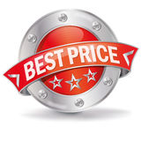 Best price button Royalty Free Stock Images