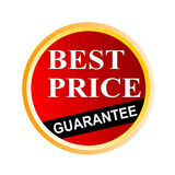 Best price guarantee seal stock photo