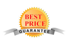 Best price guarantee seal. Vector art of a Best price guarantee seal icon Stock Image