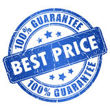 Best price guarantee. Vector stamp Stock Image