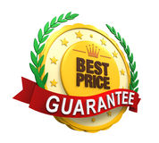 Best Price Guaranteed Label Royalty Free Stock Image