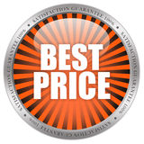 Best price icon. Isolated on white background royalty free illustration