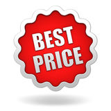 Best price icon concept 3d illustration. Best price icon 3d 3d illustration  on white background Royalty Free Stock Photography
