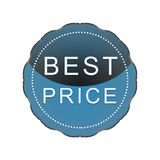 Best price label royalty free illustration