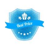 Best price label Stock Photos