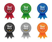 Best price labels Stock Photography