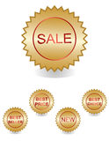 best price labels set Stock Images