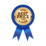 Best price medal illustration design Royalty Free Stock Photography