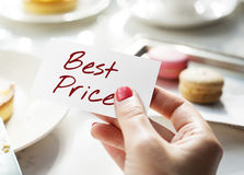 Best Price Offer Promotion Commerce Marketing Concept Stock Photography