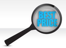 Best price, promotional sale Royalty Free Stock Photography