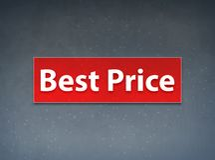 Best Price Red Banner Abstract Background. Best Price Isolated on Red Banner Abstract Background illustration Design royalty free illustration