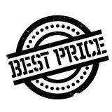 Best Price rubber stamp. Grunge design with dust scratches. Effects can be easily removed for a clean, crisp look. Color is easily changed Royalty Free Stock Images
