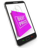 Best Price On Shopping Bags Shows Bargains Sale And Save Stock Photo