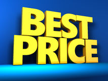 Best price sign Royalty Free Stock Photography