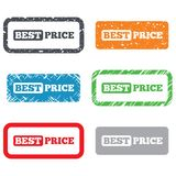 Best price sign icon. Special offer symbol Royalty Free Stock Image