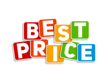 Best Price Sign Template Vector Illustration Stock Photography