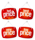 Best Price Signs Royalty Free Stock Images