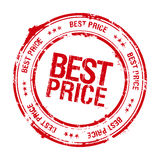 Best price stamp. Royalty Free Stock Image