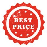 Best price stamp Royalty Free Stock Image