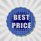 Best price sticker Stock Photography
