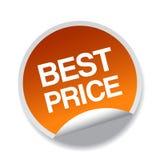 Best price sticker. Label - editable vector illustration on isolated white background vector illustration