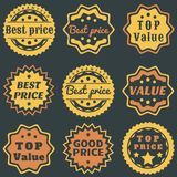 Best price sticker Royalty Free Stock Photography