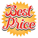 Best Price Sticker Royalty Free Stock Photo