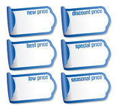 Best price stickers. Stock Photo
