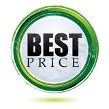 Best price tag. Illustration of best price tag on white background Stock Photos