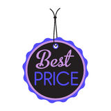 Best price tag Royalty Free Stock Images