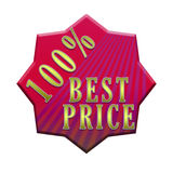 Best price tag Royalty Free Stock Image