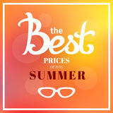 Best prices of summer Stock Photo