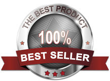 The best product. Best seller badge Stock Images
