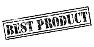 Best product black stamp. Best product stamp isolated on white background Royalty Free Stock Photography