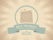 Best product design. Royalty Free Stock Image