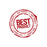 Best product leader stamp Stock Photography