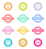 Best Product Sale Retro Badge Stock Photography