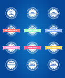 Best Product Sale Retro Badges Stock Photography