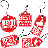 Best product tag set, vector illustration Stock Photo
