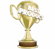 Best Product Top Prize Award Gold Trophy Royalty Free Stock Photo