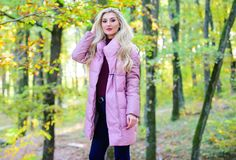 Best puffer coats to buy. How to rock puffer jacket like star. Puffer fashion concept. Outfit prove puffer coat can look. Stylish. Jackets everyone should have stock photography