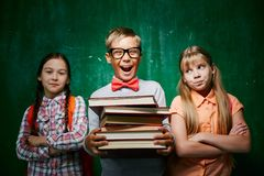 Best pupil Royalty Free Stock Photos