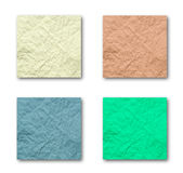 Quadruple Crumpled Paper. The Best of Quadruple Crumpled Paper Stock Image