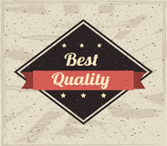 Best quality design Stock Photography