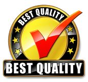 Best quality icon. Illustration of best quality icon on white background vector illustration