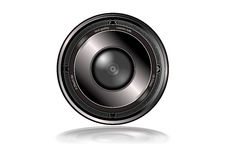 best quality Isolated camera lens Stock Photo