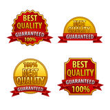 Best quality labels Stock Image