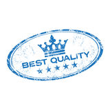 Best quality rubber stamp Royalty Free Stock Photo